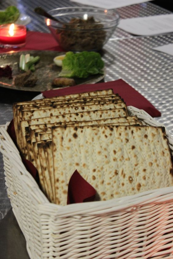 Celebrating Passover with traditional food