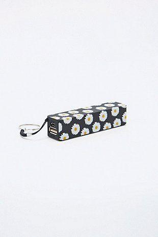Audiology - Chargeur de téléphone portable marguerites - Urban Outfitters