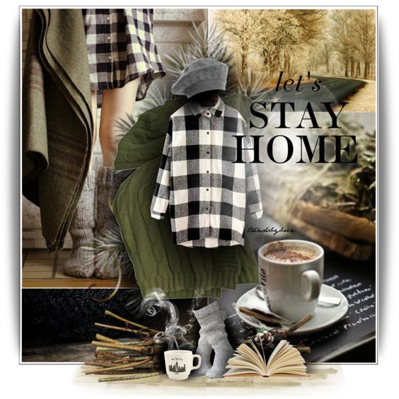 """""""Let´s stay home"""" by trendsbybren on Polyvore"""