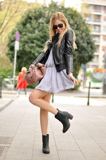 No tights (by Chiara Ferragni) http://lookbook.nu/look/1765842-No-tights
