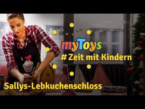 Sallys Lebkuchenschloss zum Nachbacken | #ZeitmitKindern | Pfefferkuchenhaus - YouTube