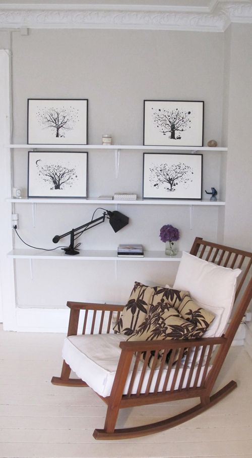 Nursery styling ideas monochrome thesecretcrafthouse Farrow and ball skimming stone living room