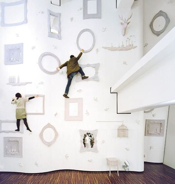 not your average climbing wall!