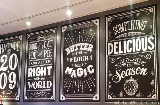 Chalkboard Signs Chalkboards And Pie Company On Pinterest