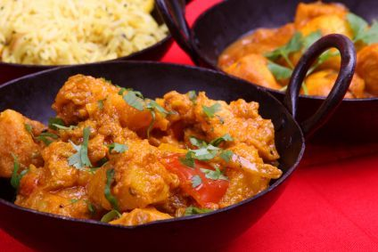 Vegetable Vindaloo- a great dish for fall weather!
