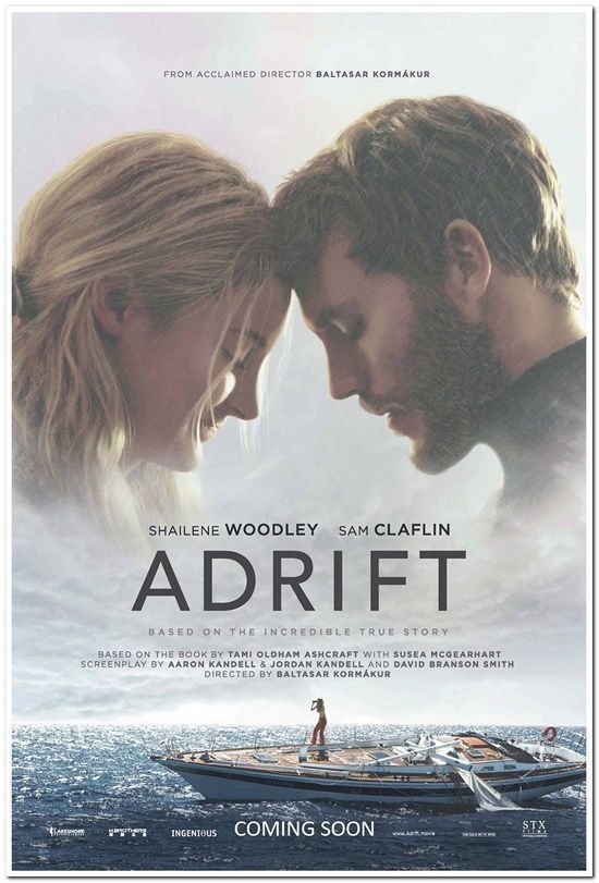 Details About Adrift 2018 Original 27x40 Advance Movie Poster