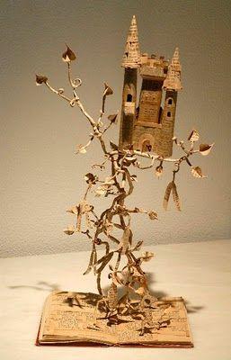 """Fairytale castle"" by paper artist, Maria Rita:"