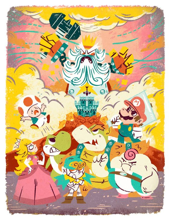 Game & Prints: Super Mario RPG
