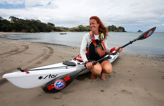A 54-year-old paddled 3,500 miles around both Islands of New Zealand in 432 days.