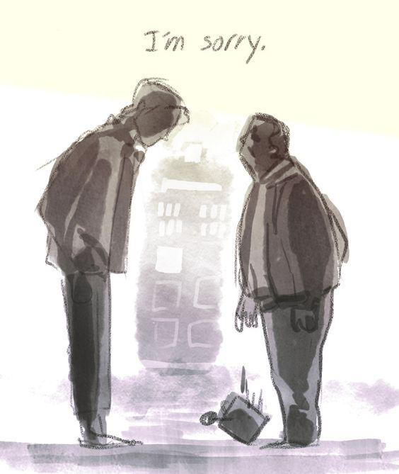 The saddest part of Angels Take Manhattan, not that Amy and Rory are gone, but that Brian told the Doctor to bring them home safe.