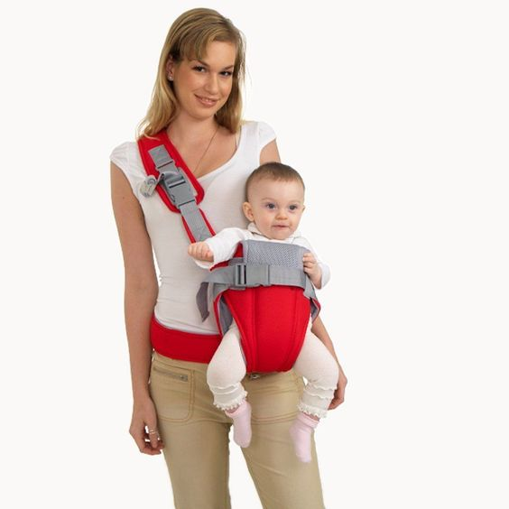 Baby Carrier 4 way Infant Carriers Papoose Sling Wrap Backpack Breast Feed