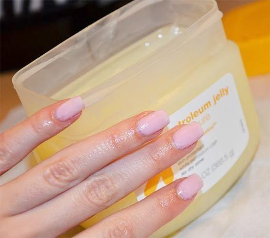 remove acrylic nails at home