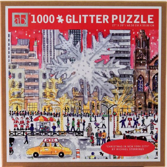 Christmas on 5th Puzzle     By: Michael Storrings