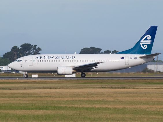 Air New Zealand 737 at Christchurch  Type: Boeing 737-3U3 Registration: ZK-NGD Location: Christchurch International Airport Date: 18/10/2013