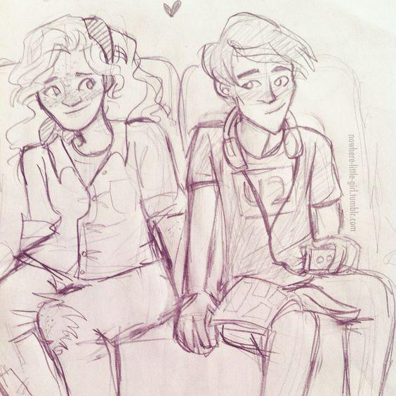 Eleanor and Park sketch.