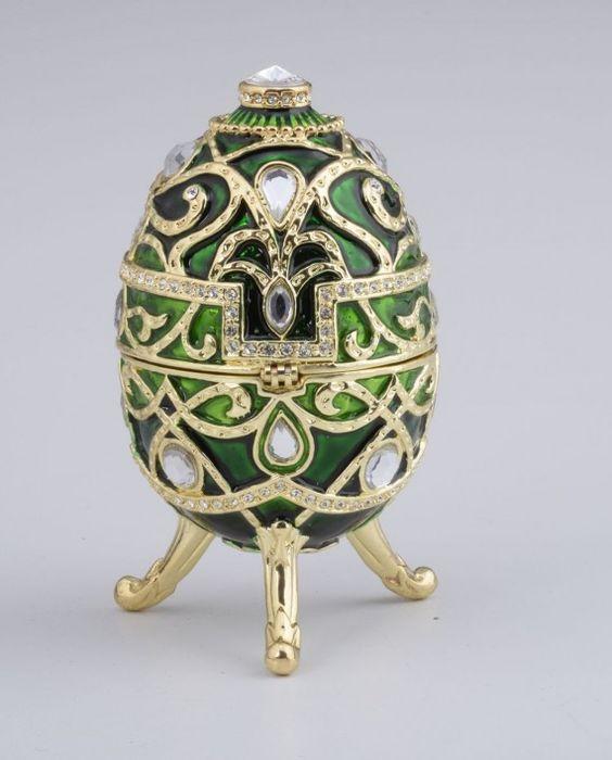 Green Faberge Egg