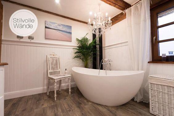 Dieses Paradiesische Badezimmer Verwohnt Die Seele Schon Beim Anblick Findet Ihr Es Nicht Auch Einfach Traumhaft Haus Einrichten Wandverkleidung Badgestaltung
