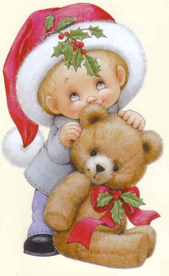 http://pinterest.com/shirleyweston/morehead-art/   ruth morehead images | Ruth Morehead Navidad tiernas imágenes cute figuras: