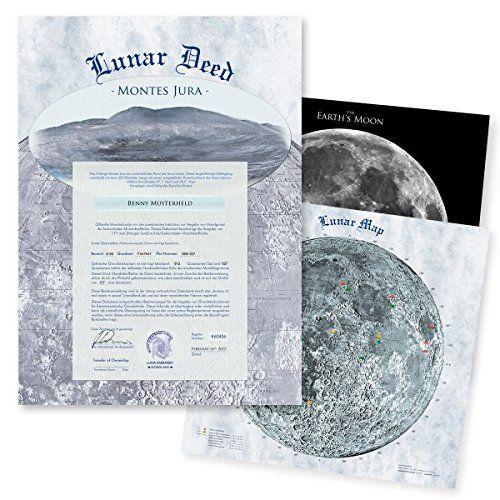 Mondgrundstück an Weihnachten verschenken / Land and property on the moon as a christmas gift?