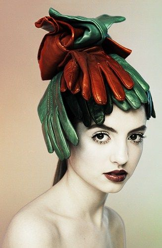 the surrealist hat: losing gloves may not be that bad after all...