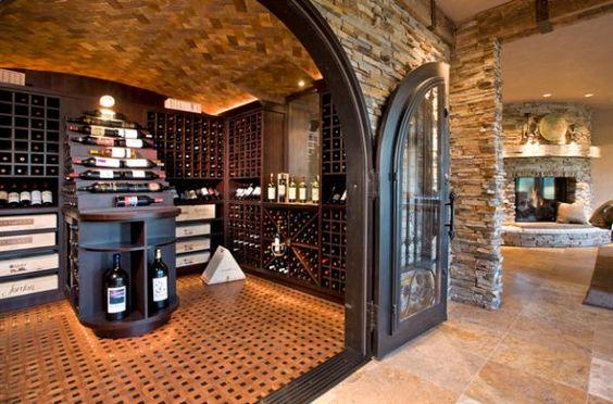 Weinkeller einrichten tipps  29 Weinkeller und Lagerung Ideen - berauschendes Design | Mein ...