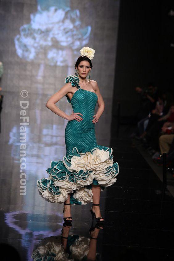 Fotografías Moda Flamenca - Simof 2014 - Sara de Benitez 'Flamên a portet' Simof 2014 - Foto 02