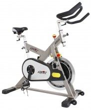 A Heavy Duty Commercial Grade Spin Bike Suitable For Use At Home
