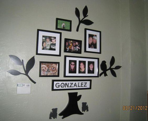 family tree wall - cute idea