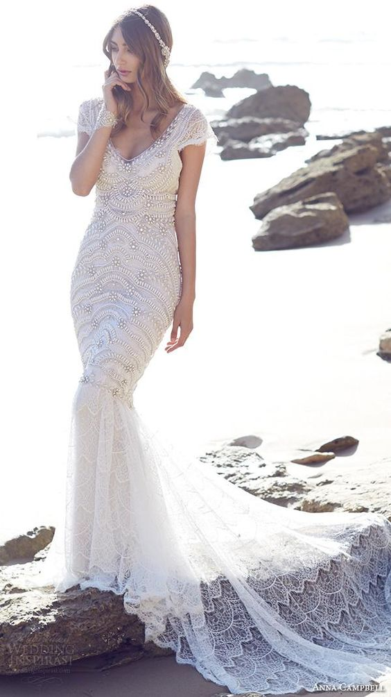 Anna Campbell 2015 bridal- wedding dress inspiration.