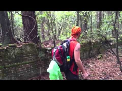 Governor George Drew Mansion Ruins in Madison County - YouTube