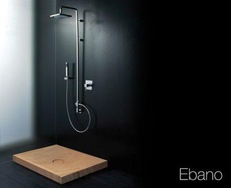 シャワーEbano木材の外観