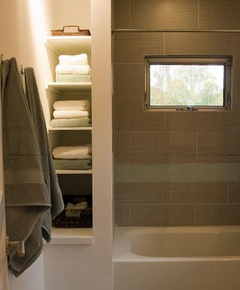 Small Bathrooms, Shelves And Bathroom On Pinterest