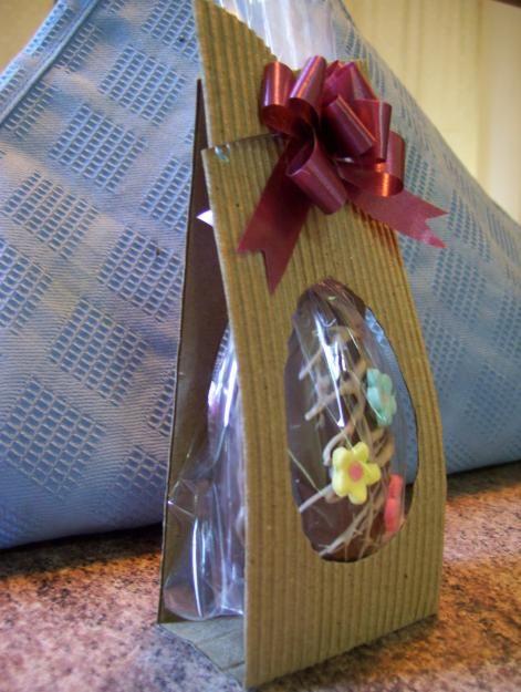 Huevos de Pascua artesanales - Rosario