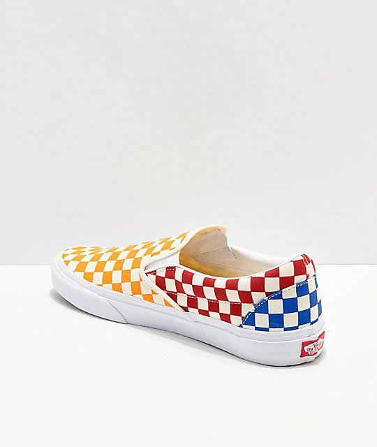 Vans classic slip on, Skate shoes