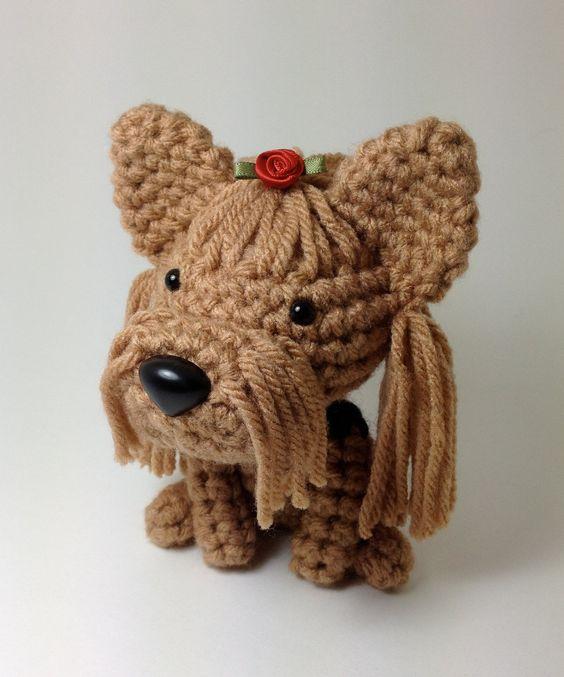 Amigurumi Crochet Yorkie : Pinterest The world s catalog of ideas