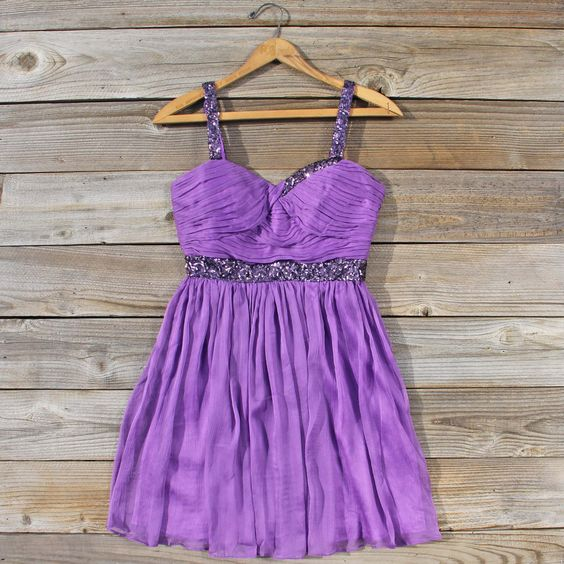 Frost & Lavender Dress, Sweet Fall & Winter Party Dresses from Spool 72. | Spool No.72