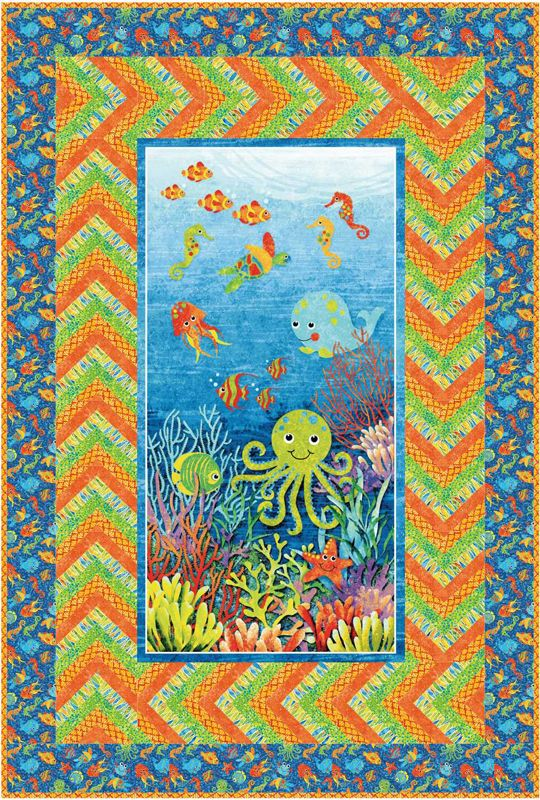 Fabric collection: Stonehenge Kids Undersea Adventures by Linda Ludovico for @Petra Thompson ...