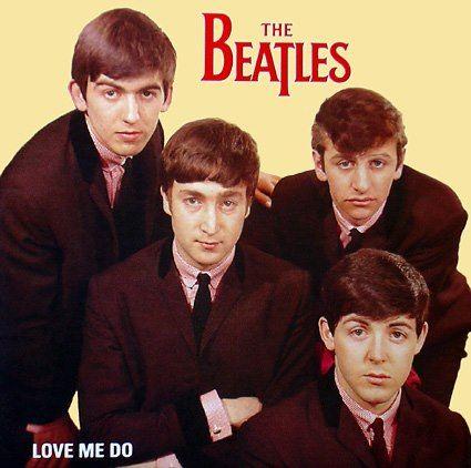 The Beatles. Single Love me do