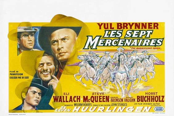 The Magnificent Seven. 1960. D: John Sturges To hear the show, tune in to http://thenextreel.com/tnr/the-magnificent-seven or check out our Pinterest board: http://www.pinterest.com/thenextreel/the-next-reel-the-podcast/ http://www.youtube.com/c/ThenextreelPodcast https://www.facebook.com/TheNextReel https://twitter.com/TheNextReel http://instagram.com/thenextreel http://www.flickchart.com/thenextreel http://letterboxd.com/thenextreel https://plus.google.com/+ThenextreelPodcast