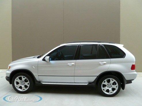 2002 BMW X5 E53 Steptronic