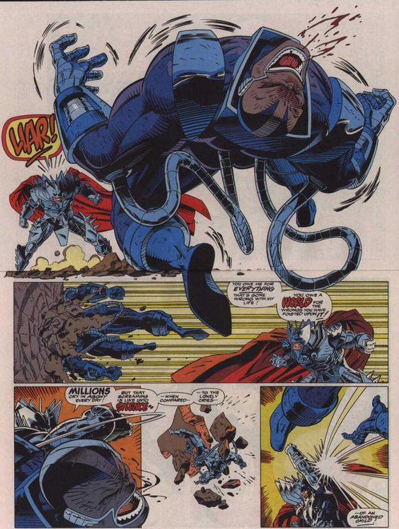 Anime Characters Vs Thanos : Apocalypse vs thanos onslaught battles