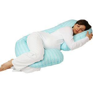 Sleeper Keeper Pillow, Vintage Turquoise $39.98 | I SO need one.