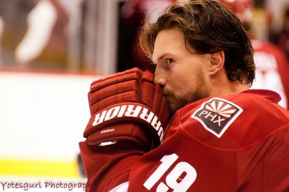 Shane Doan, Captain of the Phoenix Coyotes, one of my favorite leaders and players of the game.