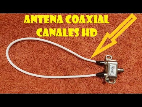 Como Hacer Antena Coaxial Casera Hd Youtube Antenas Antenas Para Tv Antenas Para Tv Hd