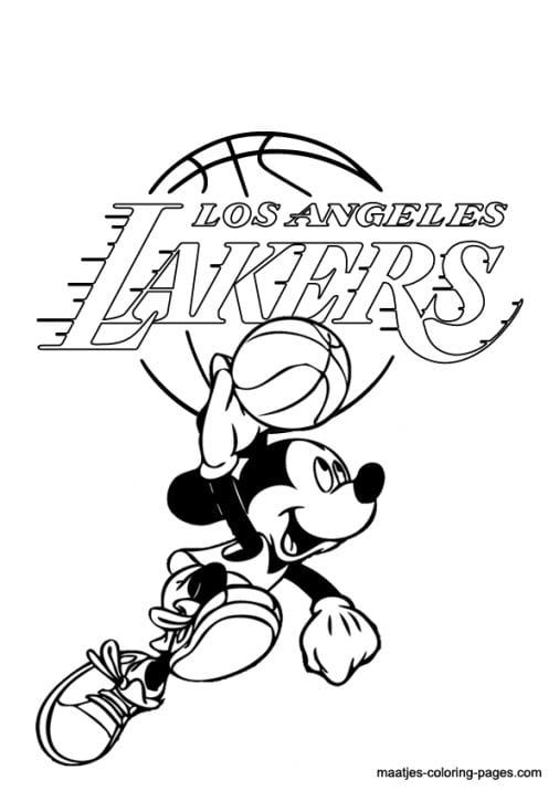 Lakers Logo Coloring Pages Lakers Logo Coloring Pages Lakers Colors