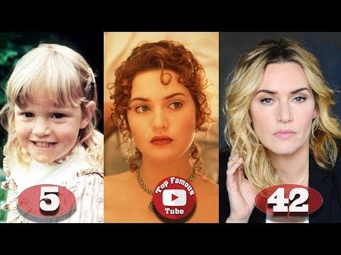 Kate Winslet Titanic Transformation From 5 To 42 Years Old Youtube Kate Winslet Kate Winslet Age Popular Actresses