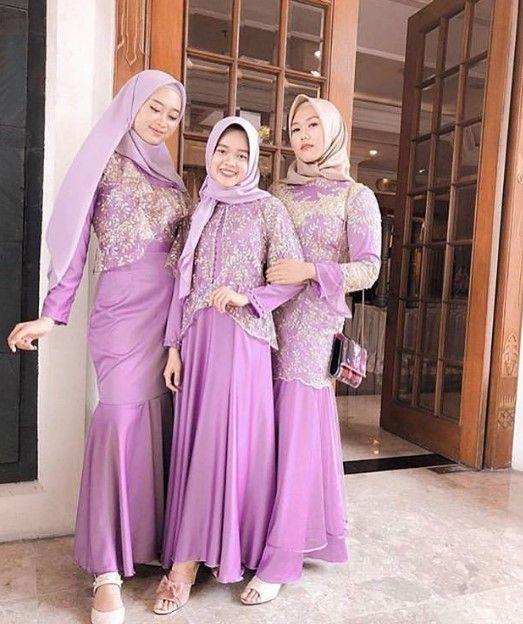 Model Baju Gamis Duyung Pesta