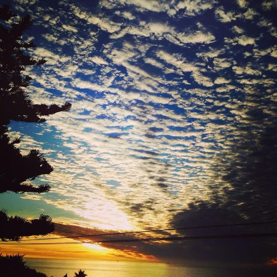 photographer @Nicolette Waterford:   How do you like our clouds tonight? #capetown pic.twitter.com/TixBATJjnv  #kaapkiekies