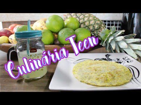 Suco de limão com casca e tudo e Crepioca Fit - YouTube