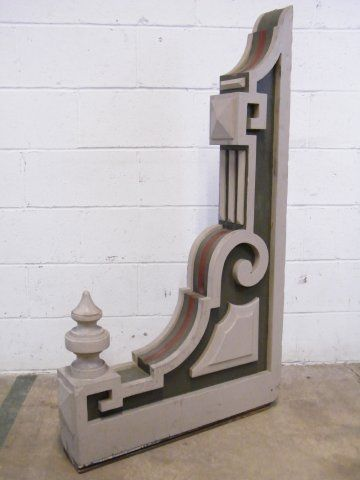 Architectural salvage victorian and woods on pinterest for Architectural corbels and brackets